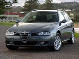 Alfa Romeo 156 Sportwagon AU-spec 932B (2003–2005) pictures