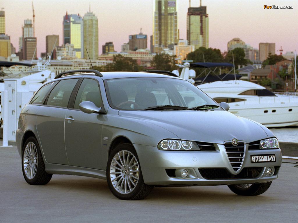Alfa Romeo 156 Sportwagon AU-spec 932B (2003–2005) pictures (1024 x 768)