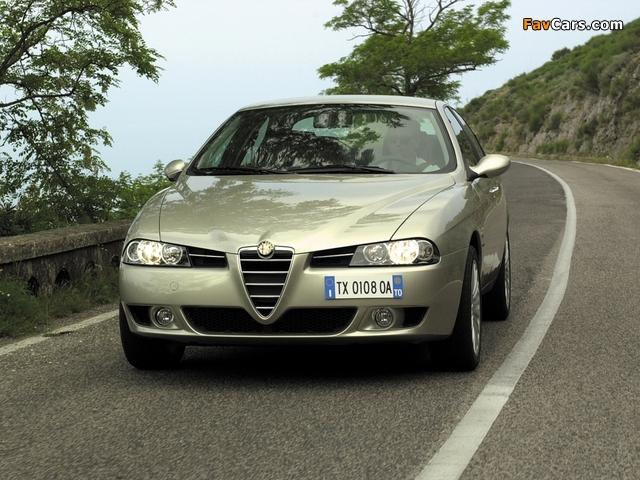 Alfa Romeo 156 932A (2003–2005) wallpapers (640 x 480)