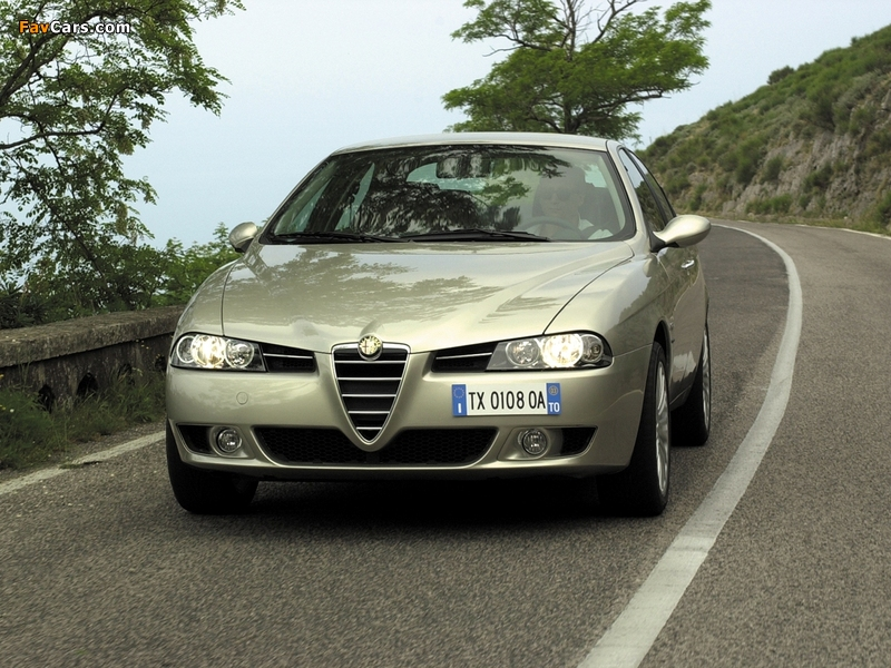 Alfa Romeo 156 932A (2003–2005) wallpapers (800 x 600)