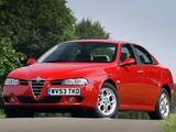 Alfa Romeo 156 UK-spec 932A (2003–2005) wallpapers