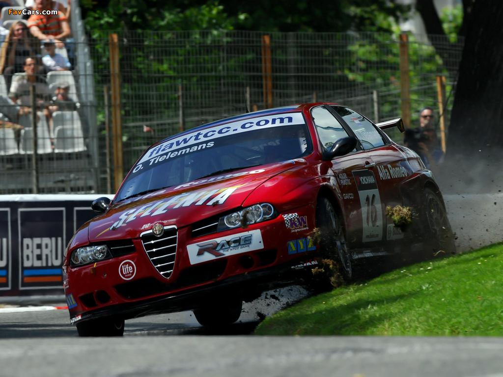 Alfa Romeo 156 Super 2000 SE107 (2004–2007) photos (1024 x 768)