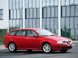 Alfa Romeo 156 Sportwagon 932B (2000–2002) images