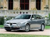 Alfa Romeo 156 Sportwagon GTA UK-spec 932B (2002–2005) images