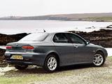 Images of Alfa Romeo 156 UK-spec 932A (2002–2003)