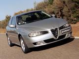 Images of Alfa Romeo 156 2.5 V6 AU-spec 932A (2003–2005)