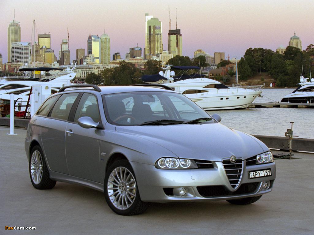 Images of Alfa Romeo 156 Sportwagon AU-spec 932B (2003–2005) (1024 x 768)