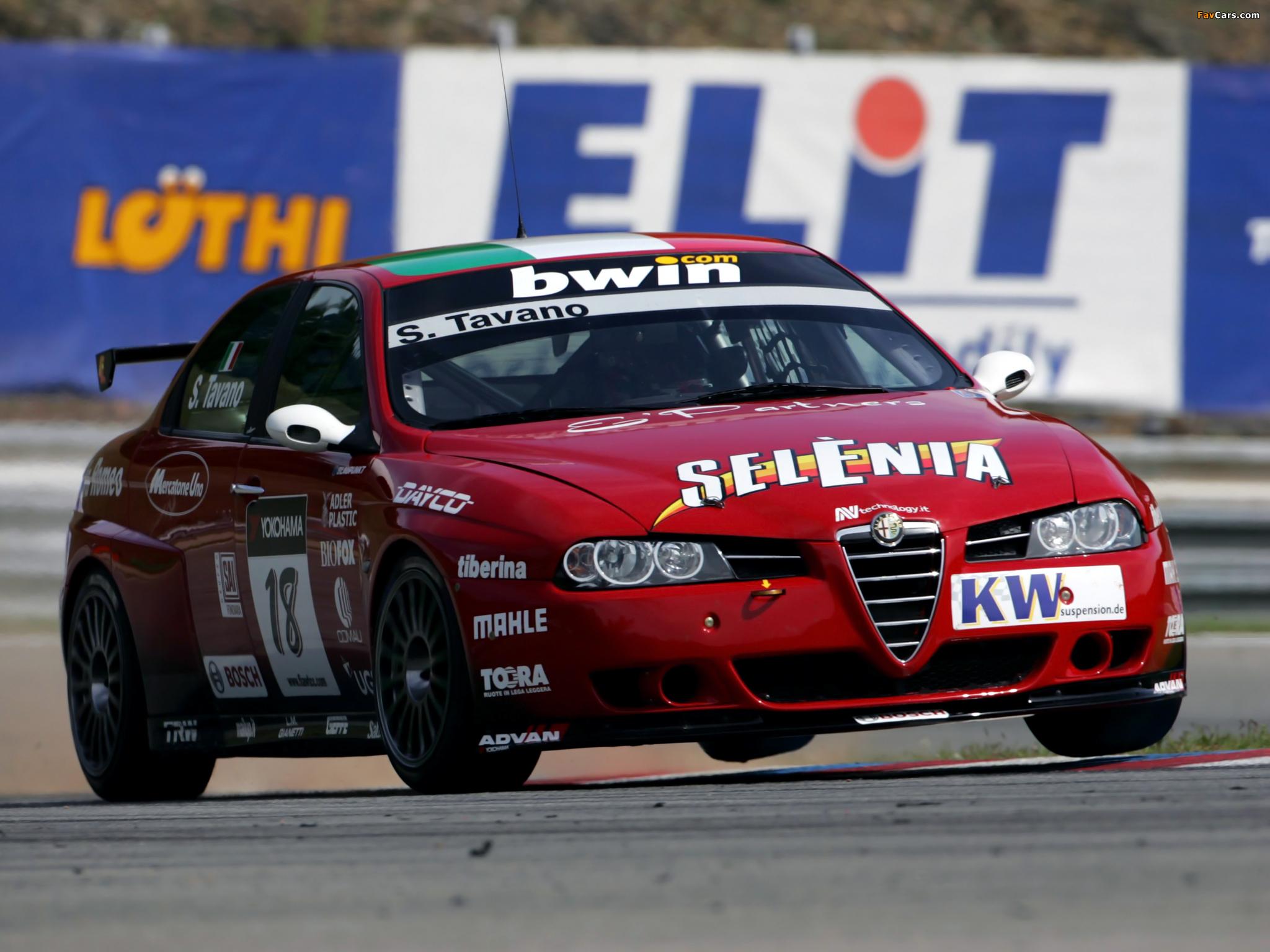 Images of Alfa Romeo 156 Super 2000 SE107 (2004–2007) (2048 x 1536)