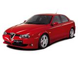 Photos of Alfa Romeo 156 GTA UK-spec 932A (2002–2005)