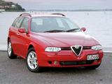 Photos of Alfa Romeo 156 Sportwagon AU-spec 932B (2002–2003)