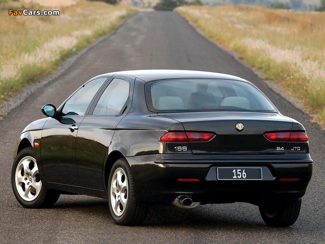Photos of Alfa Romeo 156 ZA-spec 932A (2002–2003) (640 x 480)