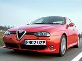Pictures of Alfa Romeo 156 GTA UK-spec 932A (2002–2005)