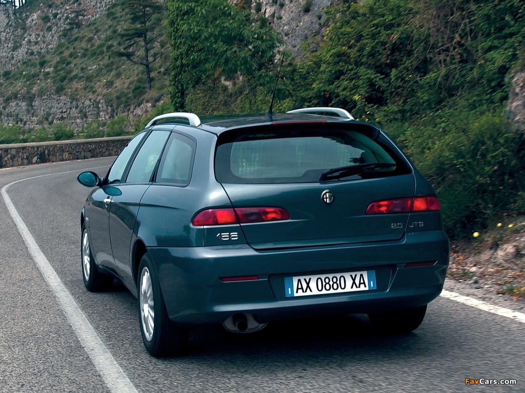 Pictures of Alfa Romeo 156 Sportwagon 932B (2003–2005) (1024 x 768)