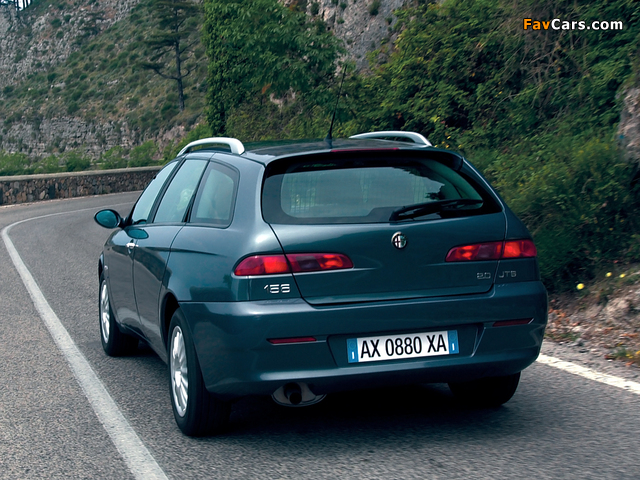 Pictures of Alfa Romeo 156 Sportwagon 932B (2003–2005) (640 x 480)