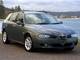 Pictures of Alfa Romeo 156 Sportwagon AU-spec 932B (2003–2005)