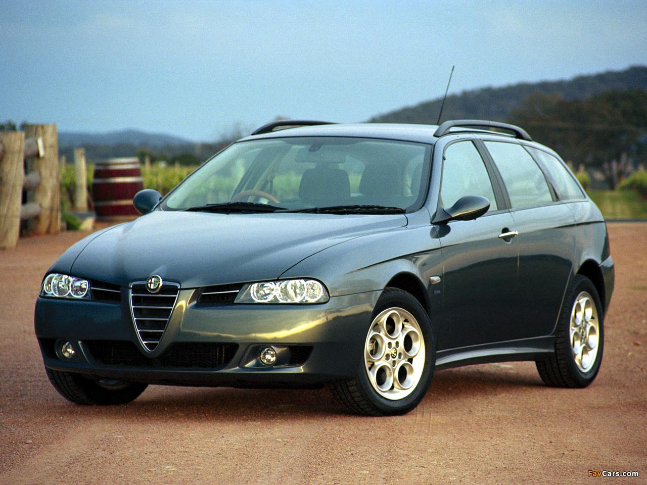 Pictures of Alfa Romeo 156 Sportwagon AU-spec 932B (2003–2005) (1280 x 960)
