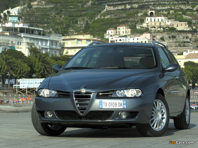 Pictures of Alfa Romeo 156 Sportwagon 932B (2003–2005) (800 x 600)