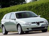 Alfa Romeo 156 Sportwagon UK-spec 932B (2002–2003) wallpapers