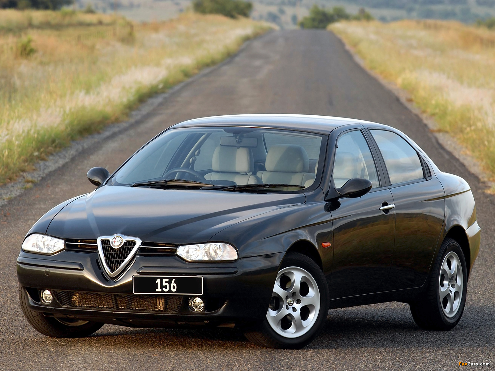 Alfa Romeo 156 ZA-spec 932A (2002–2003) wallpapers (1600 x 1200)