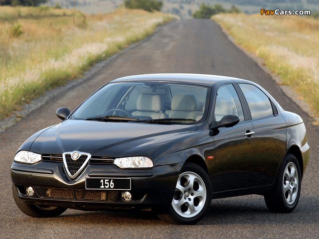 Alfa Romeo 156 ZA-spec 932A (2002–2003) wallpapers (640 x 480)