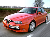 Alfa Romeo 156 GTA UK-spec 932A (2002–2005) wallpapers