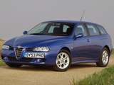 Alfa Romeo 156 Sportwagon UK-spec 932B (2003–2005) wallpapers