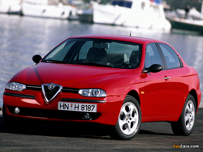 Alfa Romeo 156 932A (1997–2002) wallpapers (800 x 600)