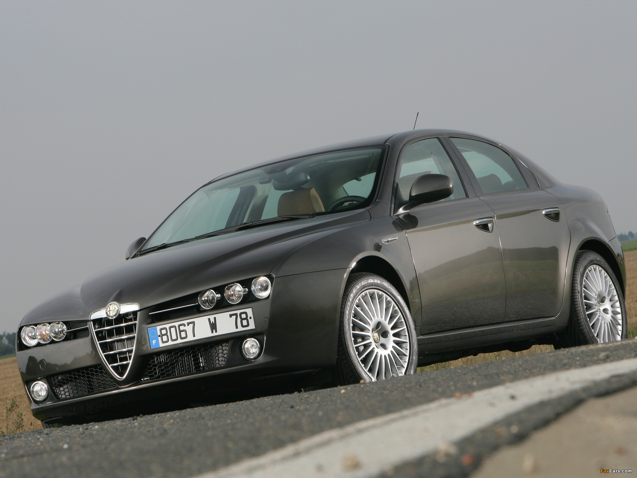 Alfa Romeo 159 939A (2005–2008) images (2048 x 1536)