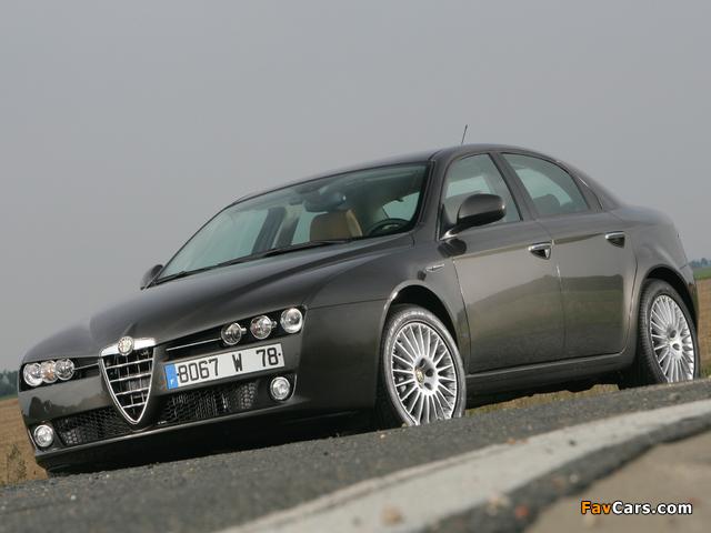 Alfa Romeo 159 939A (2005–2008) images (640 x 480)