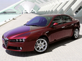 Alfa Romeo 159 3.2 JTS Q4 939A (2005–2008) wallpapers