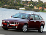 Alfa Romeo 159 Sportwagon 2.4 JTDm AU-spec 939B (2006–2008) images