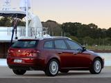Alfa Romeo 159 Sportwagon 2.4 JTDm AU-spec 939B (2006–2008) photos