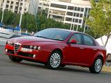 Alfa Romeo 159 2.2 JTS AU-spec 939A (2006–2008) photos