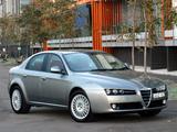 Alfa Romeo 159 2.4 JTDm AU-spec 939A (2006–2008) photos