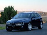 Alfa Romeo 159 Sportwagon 3.2 JTS Q4 AU-spec 939B (2006–2008) pictures