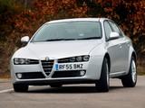 Images of Alfa Romeo 159 2.4 JTDm UK-spec 939A (2006–2008)