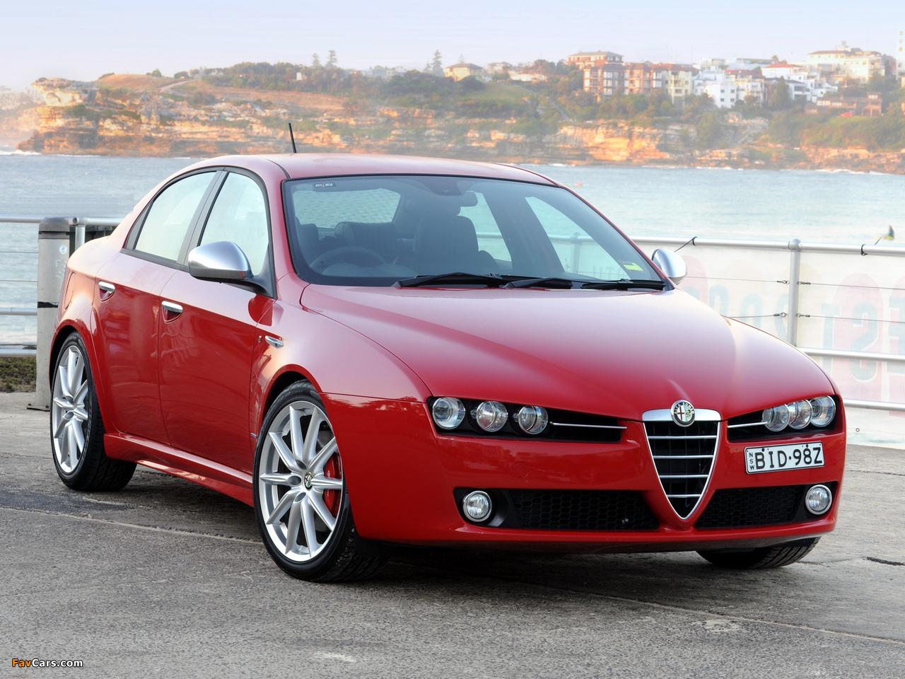 Images Of Alfa Romeo 159 Ti Au Spec 939a 2008 2011