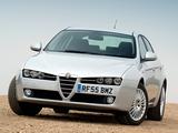 Photos of Alfa Romeo 159 2.4 JTDm UK-spec 939A (2006–2008)