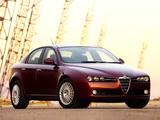 Photos of Alfa Romeo 159 3.2 JTS Q4 ZA-spec 939A (2006–2008)