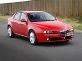 Pictures of Alfa Romeo 159 1.9 JTDm UK-spec 939A (2006–2008)