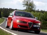Pictures of Alfa Romeo 159 Ti 939A (2007–2008)