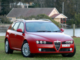 Wallpapers of Alfa Romeo 159 Sportwagon 2.2 JTS AU-spec 939B (2006–2008)