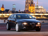 Alfa Romeo 159 Sportwagon Ti 939B (2007–2008) wallpapers