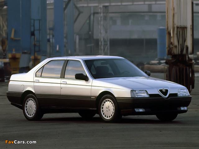 Petit Quizz sur l'automobile ancienne et moderne  Alfa-romeo_164_1987_photos_1