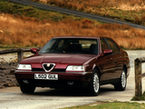 Alfa Romeo 164 Super UK-spec (1992–1997) images