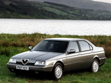 Images of Alfa Romeo 164 Super UK-spec (1992–1997)