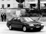 Pictures of Alfa Romeo 164 V6 Turbo (1991–1992)