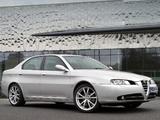 Alfa Romeo 166 Ti UK-spec 936 (2004–2005) images