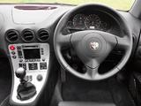 Alfa Romeo 166 Ti UK-spec 936 (2004–2005) pictures