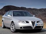 Photos of Alfa Romeo 166 Ti UK-spec 936 (2004–2005)